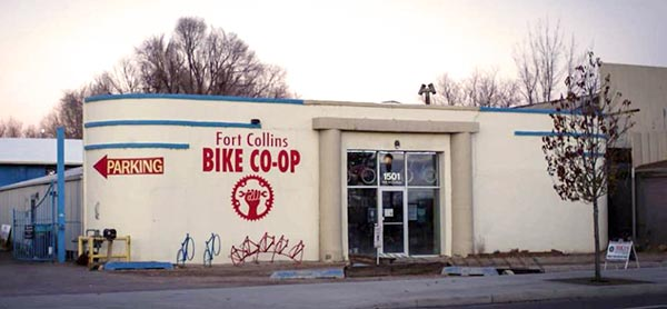 Fort Collins Bicycle Co-op Building