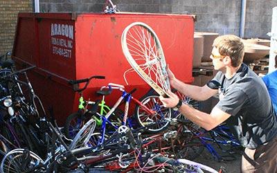 recycle bikes